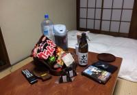 嬉野温泉やりました!!  今夜は独りで焼酎1瓶潰れるまで飲みます
