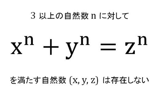 """フェルマーの最終定理"""" サイモン..."""