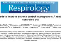 アプリを用いた妊娠中の喘息の管理