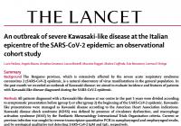 イタリアのCOVID-19流行地における重症川崎病様症状の発生