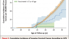 HPVワクチンによる子宮頸癌の予防効果